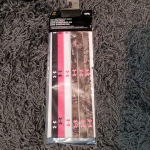 Pack of 6 underarmour headbands